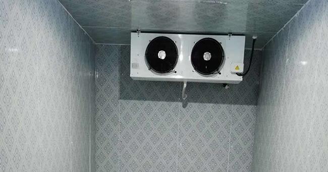 小型冷库安装内部案例